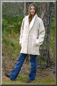 Eco Friendly Hypoallergenic Organic Reversable Town Coat.