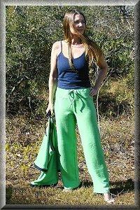 Eco-Friendly Hypoallergenic Organic Lounge Pants.