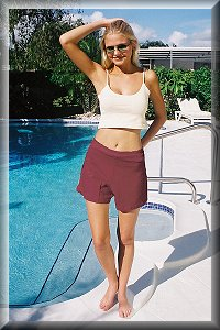 Eco Friendly Hypoallergenic Organic Relaxed Shorts.