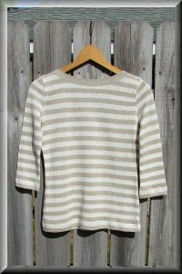 Eco Friendly Hypoallergenic Organic Knit Venezia Top.