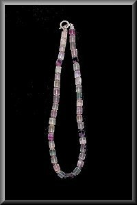 Grand Curie' Florite Crystal Necklace.